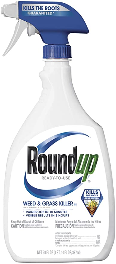 Roundup Weed Grass Killer Moscarillo S Garden Shoppe